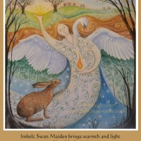 imbolc-swan-maiden